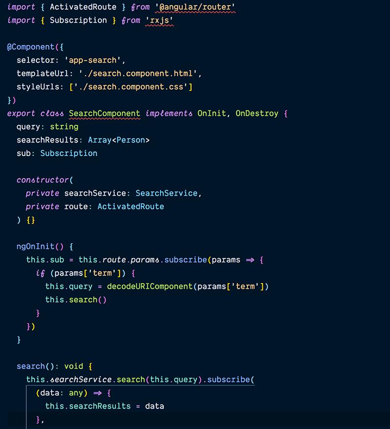 beginning angular file