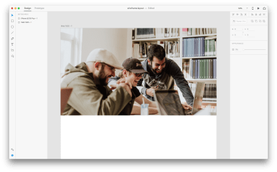 dragging the image from Libraries to your Artboard