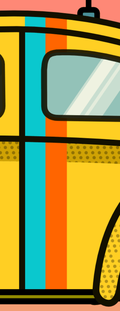 Stripe and window with subtraction operation applied.