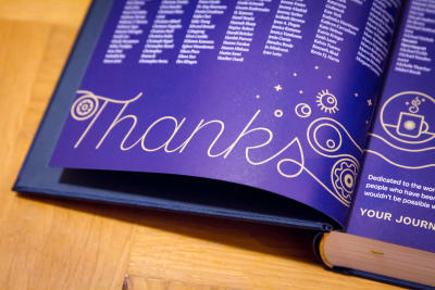 Smashing Book 6, a thank-you page