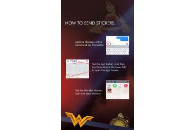 Wonder Woman stickers