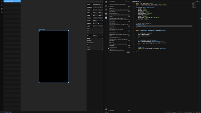 Framer X dark (night) mode