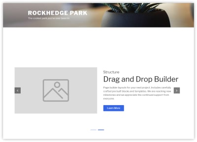 WP Page Builder spreads the content you build across the whole page, and only the header and footer of the theme are used.