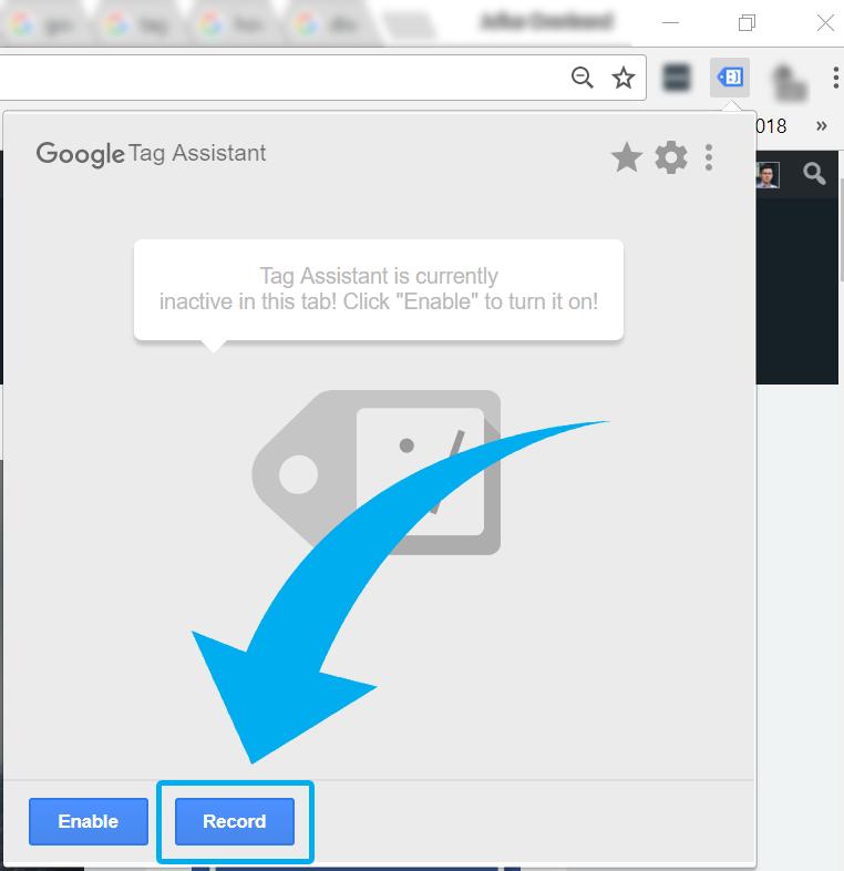 Google Tag Assistant - Recording
