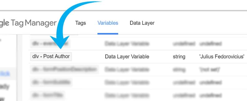 data layer variable in gtm preview mode
