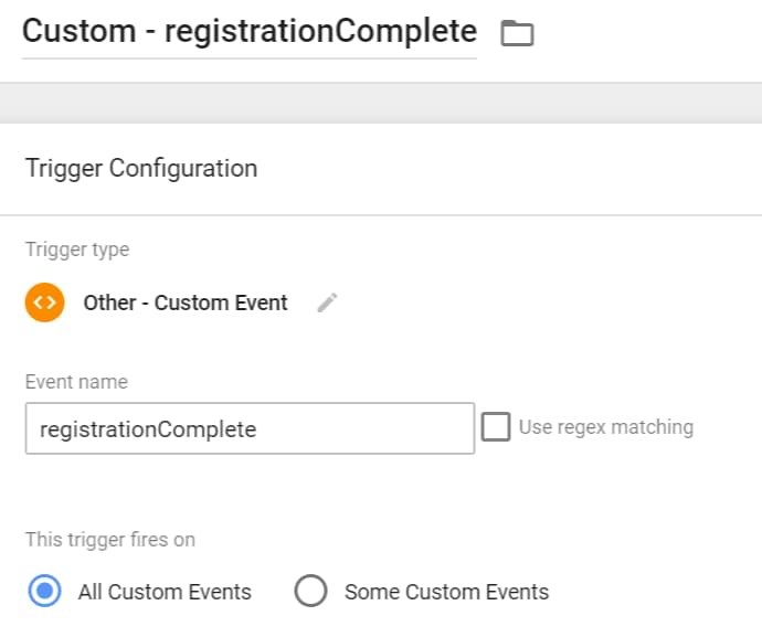 custom event trigger in google tag manager