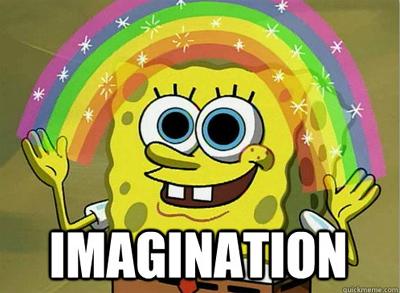 Spongebob imagination google tag manager