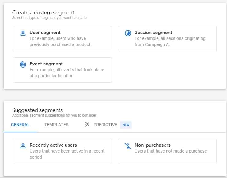 segments in google analytics 4 analysis hub